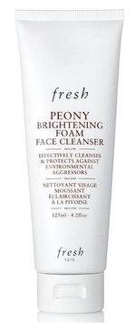 fresh Peony Brightening Foam Face Cleanser