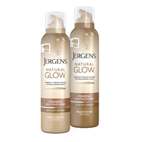 JERGENS® Natural Glow® Foaming Daily Moisturizer