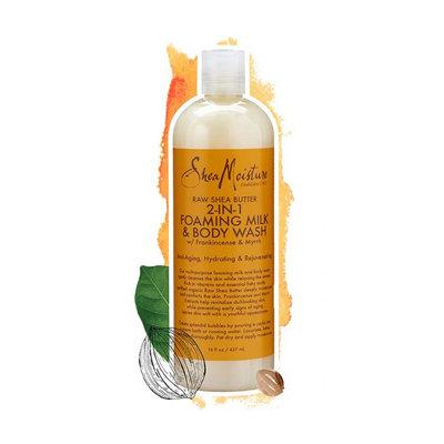 SheaMoisture Raw Shea Butter 2-In-1 Foaming Milk & Body Wash