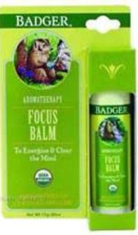 Badger Balm Focus Balm Aromatherapy Stick
