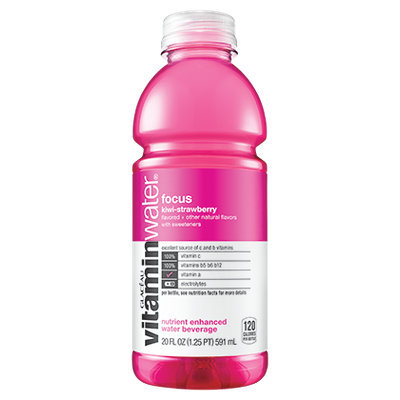 vitaminwater Focus Kiwi-Strawberry