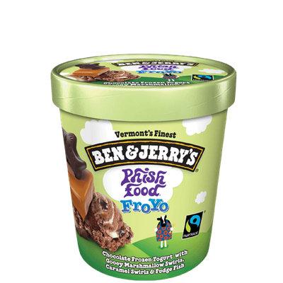 Ben & Jerry's® Phish Food Greek Frozen Yogurt