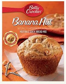 Betty Crocker™ Banana Nut Box Muffin Mixes
