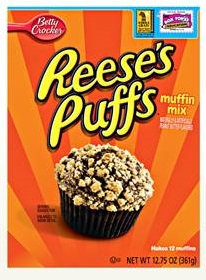 Betty Crocker™ Reese's Puffs Box Muffin Mixes