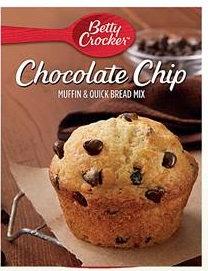 Betty Crocker™ Chocolate Chip Box Muffin Mixes