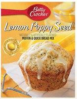 Betty Crocker™ Lemon Poppy Seed Box Muffin Mixes