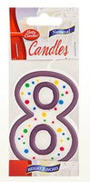 Betty Crocker™ #8 Birthday Candle