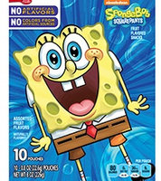 Betty Crocker™ Spongebob Squarepants Fruit Flavored Snacks [Us Carton]