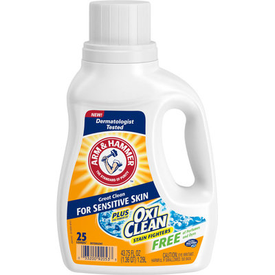 ARM & HAMMER™ Sensitive Skin plus OxiClean™ Free & Clear