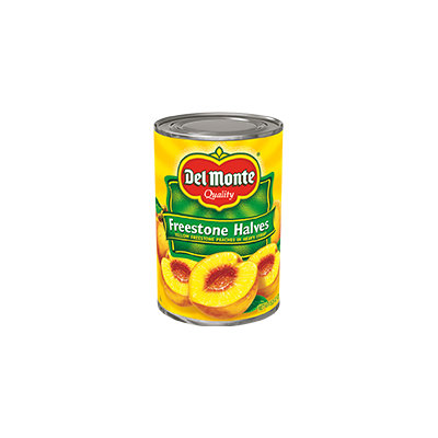 Del Monte® Yellow Freestone Peach Halves in Heavy Syrup