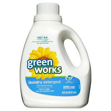 Green Works Free & Clear Liquid Laundry Detergent 90 oz