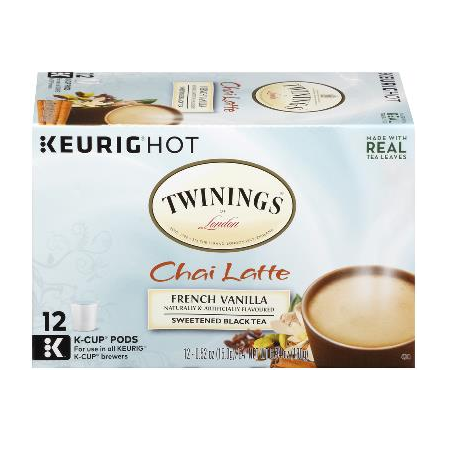 TWININGS® OF London French Vanilla Chai Latte K-Cup® Pods