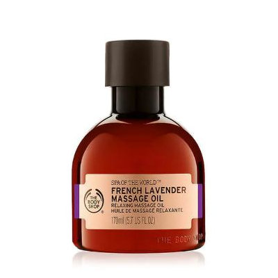 THE BODY SHOP® Spa Of The World™ French Lavender Massage Oil