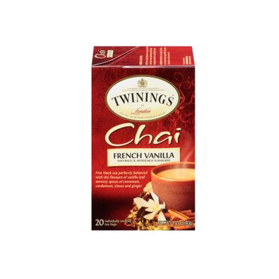 TWININGS® OF London French Vanilla Chai Tea Bags