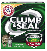 ARM & HAMMER™ Clump & Seal™ MicroGuard Odor Sealing Clumping Cat Litter Fresh Scent