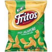 Fritos Spicy Jalapeno Flavored Corn Chips