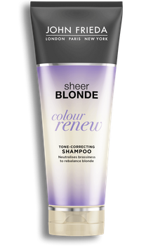 John Frieda® Sheer Blonde Colour Renew Tone-Correcting Shampoo