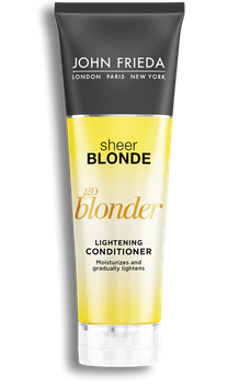 John Frieda® Sheer Blonde Go Blonder Lightening Conditioner