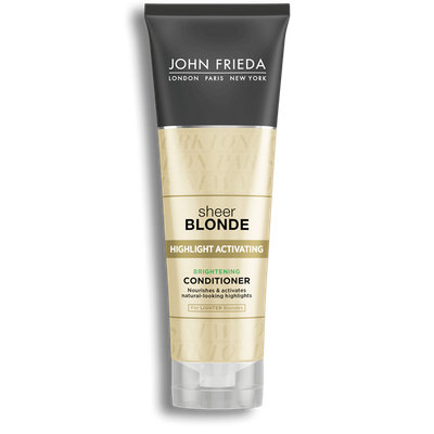 John Frieda® Sheer Blonde Highlight Activating Brightening Conditioner Lighter Blondes