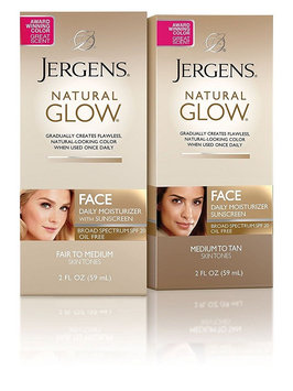JERGENS® Natural Glow® FACE Daily Moisturizer with Sunscreen Broad Spectrum SPF 20
