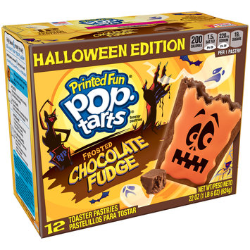 Kellogg's Pop-Tarts Spookylicious Frosted Chocolate Fudge Halloween Toaster Pastries