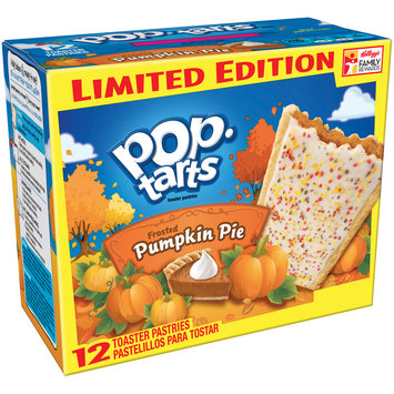 Kellogg's Pop-Tarts Frosted Pumpkin Pie Toaster Pastries