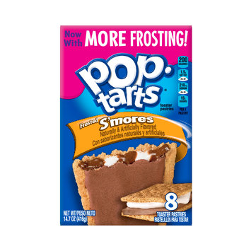 Kellogg's Pop-Tarts Frosted S'mores Toaster Pastries