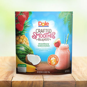 Dole Strawberry Watermelon Crafted Smoothie Blends