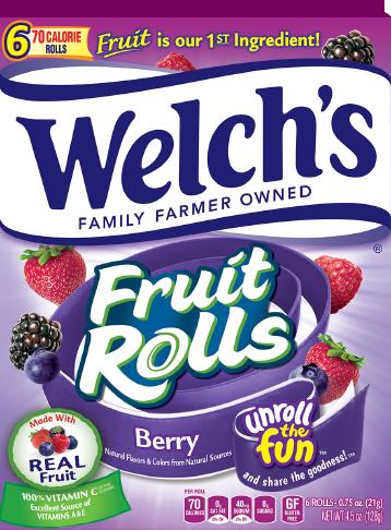 Welch's® Fruit Rolls Berry