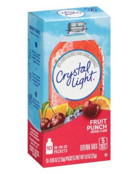 Crystal Light On-the-Go Fruit Punch Drink Mix