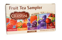 Celestial Seasonings® Fruit Tea Sampler Herbal Tea Caffeine Free