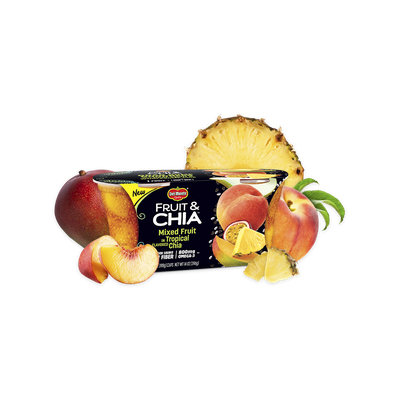 Del Monte® Fruit & Chia™ Mixed Fruit in Tropical Flavored Chia