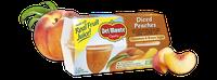 Del Monte® Peaches With Cinnamon & Brown Sugar, Fruit Cup® Snacks