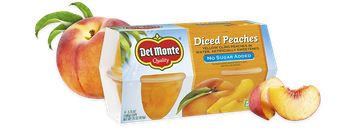 Del Monte® Peaches - No Sugar Added, Fruit Cup® Snacks