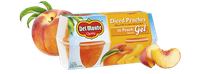 Del Monte® Peaches in Peach Flavored Gel, Fruit Cup® Snacks
