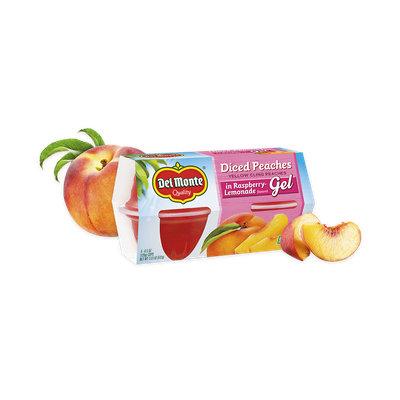 Del Monte® Peaches in Raspberry-Lemonade Flavored Gel, Fruit Cup® Snacks