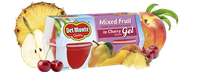 Del Monte® Mixed Fruit Cups in Cherry Flavored Gel