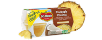 Del Monte® Pineapple in Coconut Flavored Light Syrup, Fruit Cup® Snacks