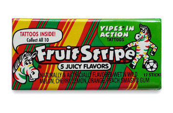 Fruit Stripe Chewing Gum