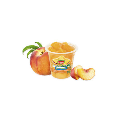 Del Monte® Fruit Naturals® Yellow Cling Peach Chunks - No Sugar Added