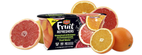 Del Monte® Fruit Refreshers® Grapefruit & Oranges in Pomegranate Flavored Slightly Sweetened Fruit Water