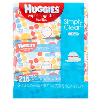 Huggies® Simply Clean Fresh Baby Wipes