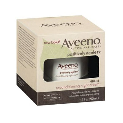 Aveeno® Active Naturals Positively Ageless Reconditioning Night Cream