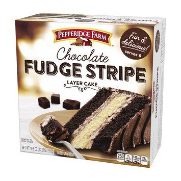 Pepperidge Farm® 3-layer Cake Fudge Stripe