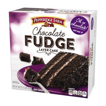 Pepperidge Farm® 3-layer Cake Chocolate Fudge