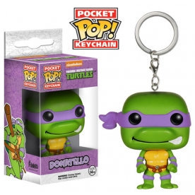 Funko TMNT Donatello Pocket Pop! Key Chain Vinyl Figure