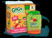 GoGo SQUEEZ PEDAL PEDAL PEACH FRUIT & VEGGIEZ