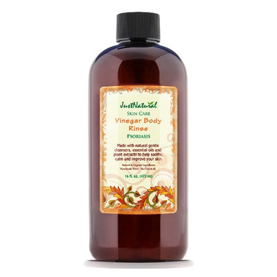 Just Natural Products Psoriasis Vinegar Body Rinse Cleanser