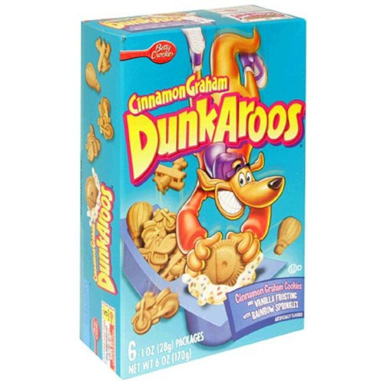 Dunkaroos Cinnamon Graham With Vanilla Frosting And Sprinkles