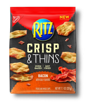 Nabisco RITZ Crisp & Thins Bacon